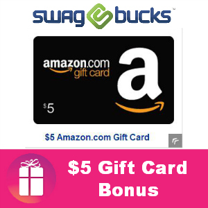 $5.00 Gift Card Bonus from Swagbucks