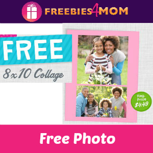 Free 8x10 Collage at Walgreens