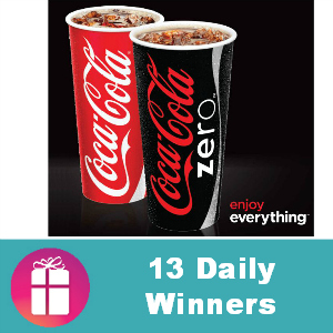 Sweeps Coke Zero Enjoy Everything