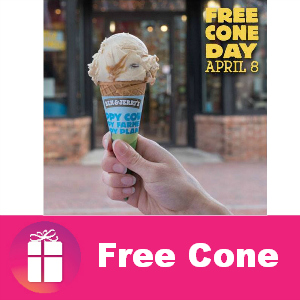 Free Cone Day at Ben & Jerry's April 8