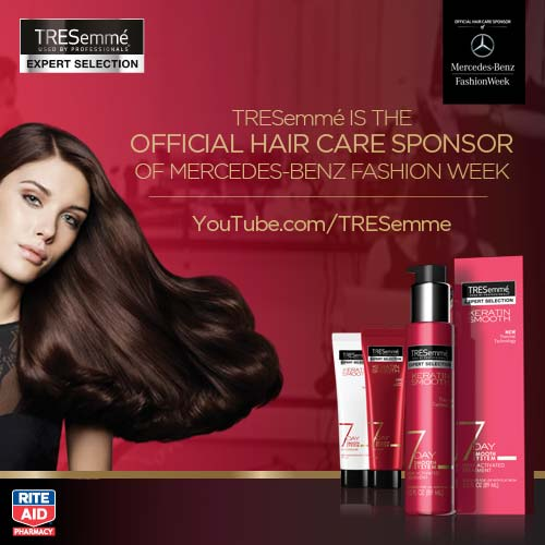How To Style Your Hair from TRESemme at RiteAid