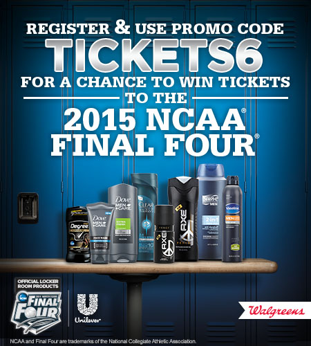Win Tickets to 2015 NCAA Final Four