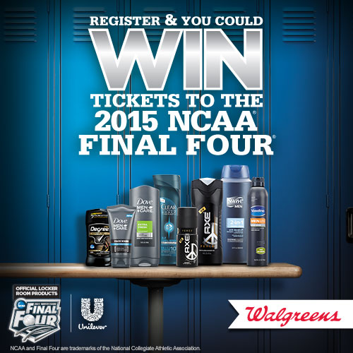 Win Tickets to NCAA® Final Four® with Unilever