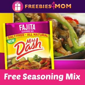 Free Mrs. Dash Fajita Seasoning Mix