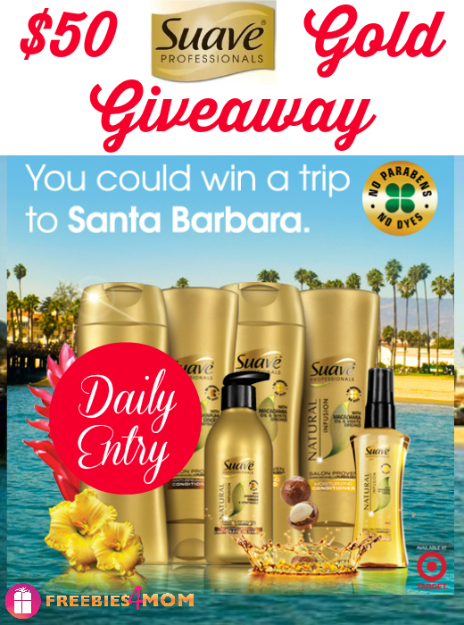 $50 Suave Gold Giveaway - Win a Target Gift Card!