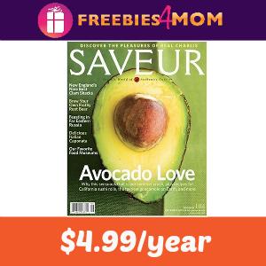 Magazine Deal: Saveur $4.99