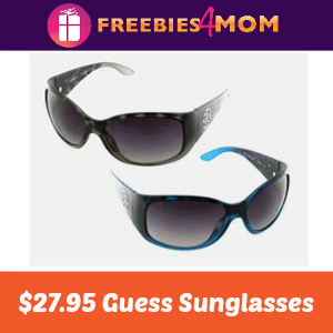 $27.95 Guess Sunglasses Sale (72% Off)