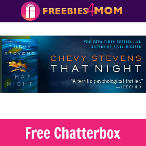 """Free Chatterbox: Chevy Stevens """"That Night"""""""