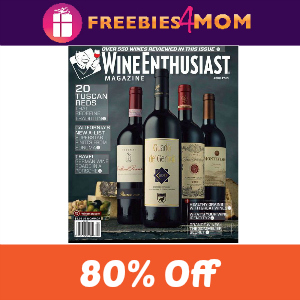 Deal $5.99 Wine Enthusiast