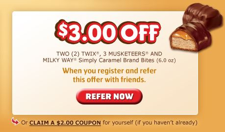 $3.00 Twix Bites Coupon