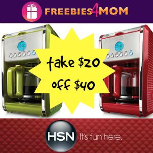 HSN Coupon Code $20 off $40+