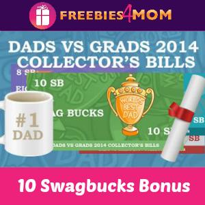 Earn a 10 Swagbucks BONUS