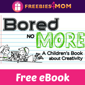 Free eBook: Bored No More ($3.99 Value)
