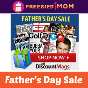Magazine Deal Last Minute Father's Day Sale