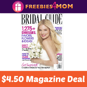 Magazine Deal: Bridal Guide $4.50