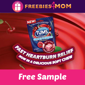 Free Sample Tums Chewy Delights