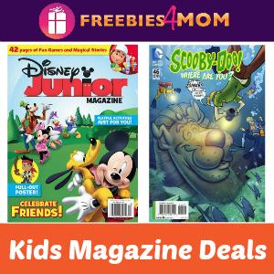 Kids Magazine Deals: Disney Junior & Scooby-Doo