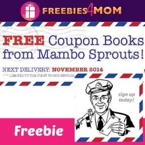 Free Mambo Sprouts November Coupon Book