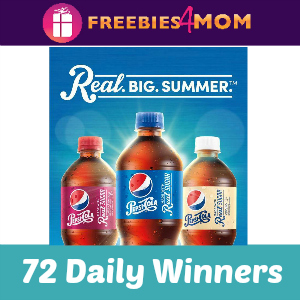 Sweeps Pepsi Real Big Summer