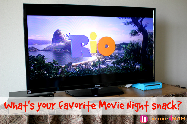 What's your favorite movie night snack?