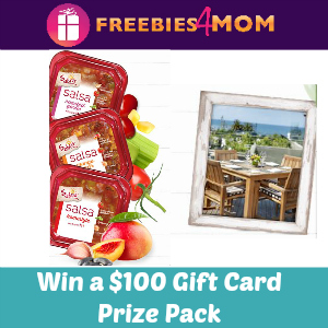 Sweeps Sabra Salsa Love (Win a $100 Gift Card)