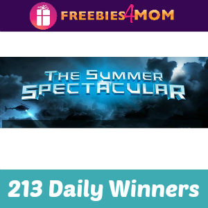Sweeps AOL Summer Spectacular Giveaway
