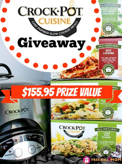 Crock-Pot® Cuisine Giveaway