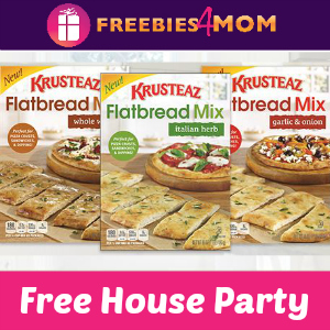 Free House Party: Krusteaz 10-Minute Flatbread
