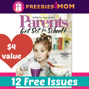 Free Parents Magazine (12 issues)