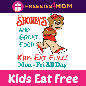 Kids Eat Free at Shoney's in August