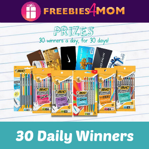Sweeps BIC Pencil (30 Daily Winners)