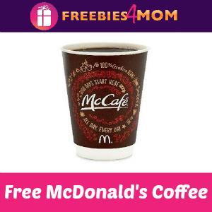 Free Small McCafé at McDonalds Sept. 16-29