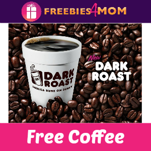Free Coffee at Dunkin' Donuts Sept. 29