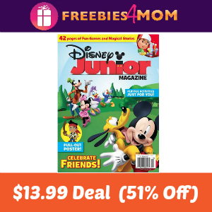 Magazine Deal: Disney Junior $13.99