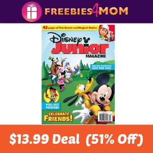 Magazine Deal: Disney Junior $13.99