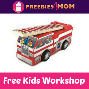 Free Fire Truck Lowe's Kids Clinic Sept. 27
