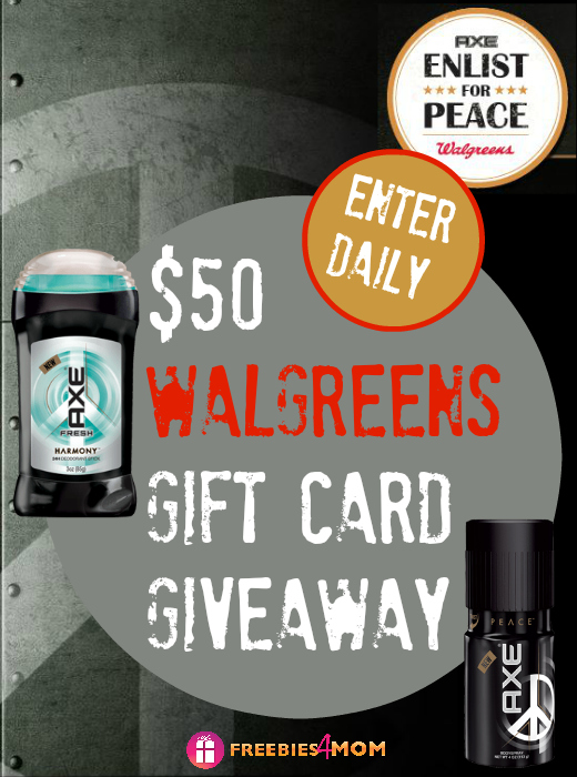 $50 Walgreens Gift Card Giveaway