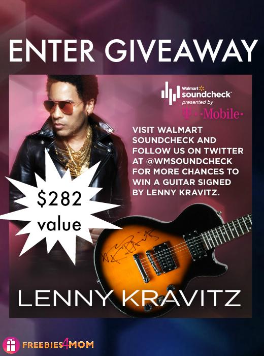 Lenny Kravitz Autographed Guitar Giveaway