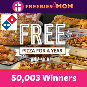 Free Domino's Gift Card *first 50,003*