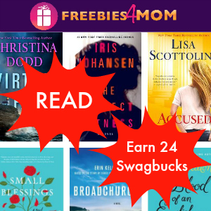 Earn 24 Swagbucks with READ *New Books Sept. 16*
