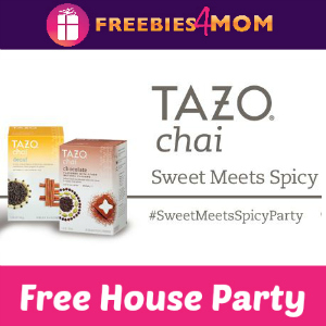 Free House Party: Tazo Chai Sweet Meets Spicy