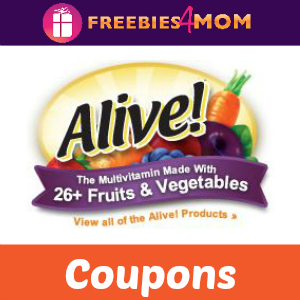 Coupons: Save on Nature's Way Alive! Vitamins