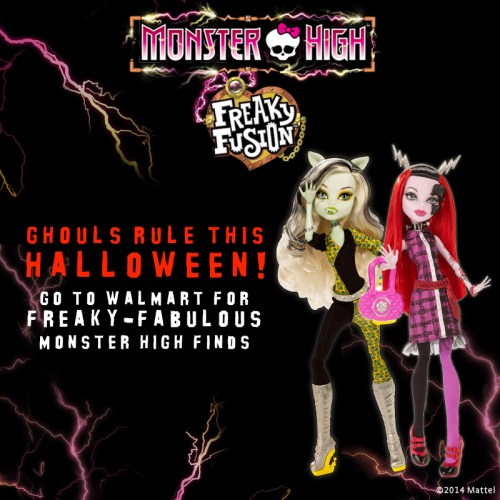 Monster High Freaky Fusion at Walmart