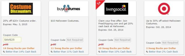 Halloween Costume Coupon Codes