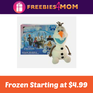 Frozen (Puzzles, Stickers & More!) Starts at $4.99