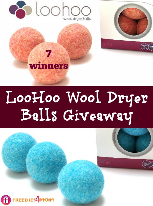 LooHoo Wool Dryer Balls Giveaway