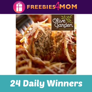 Sweeps: Olive Garden eGift Card Giveaway
