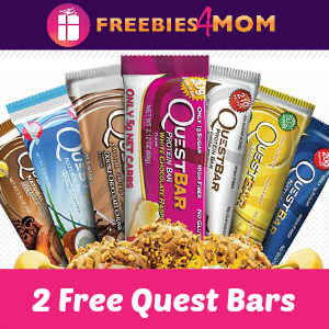 Free Sample 2 Quest Bars *Choose Your Flavors*