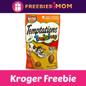Free Temptations Tumblers Cat Treats at Kroger