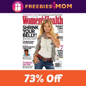 Magazine Deal: Women's Health $4/year